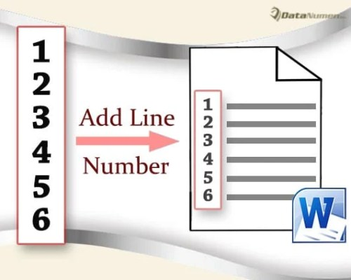 how to add pages numbers to word document