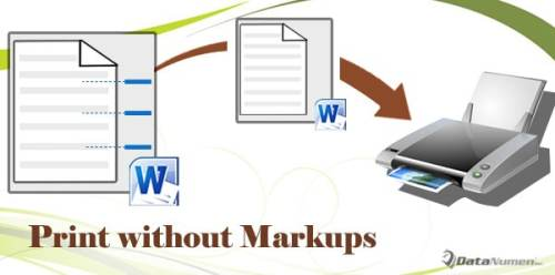 how to get rid of markup in word