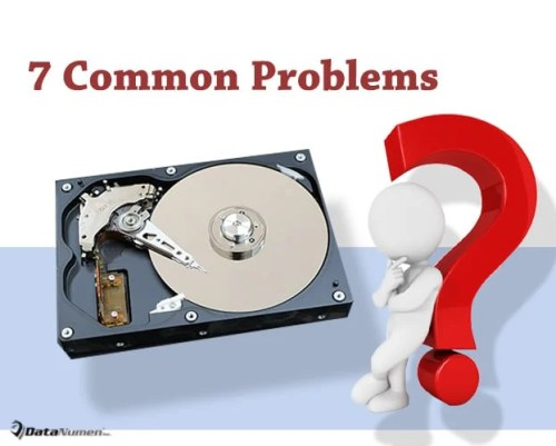 7 Common Problems on Hard Disk Drives (HDDs)