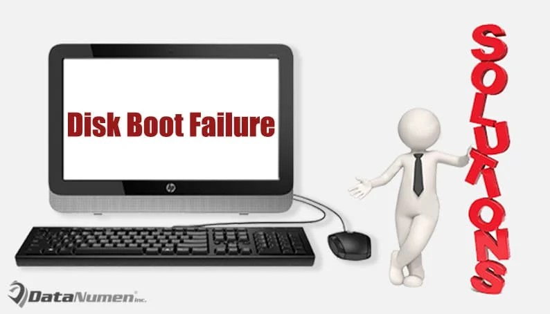 "7 Reasons & Solutions for ""Disk Boot Failure"" Error on"
