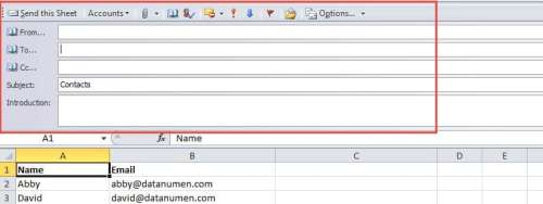 Compose Email Details
