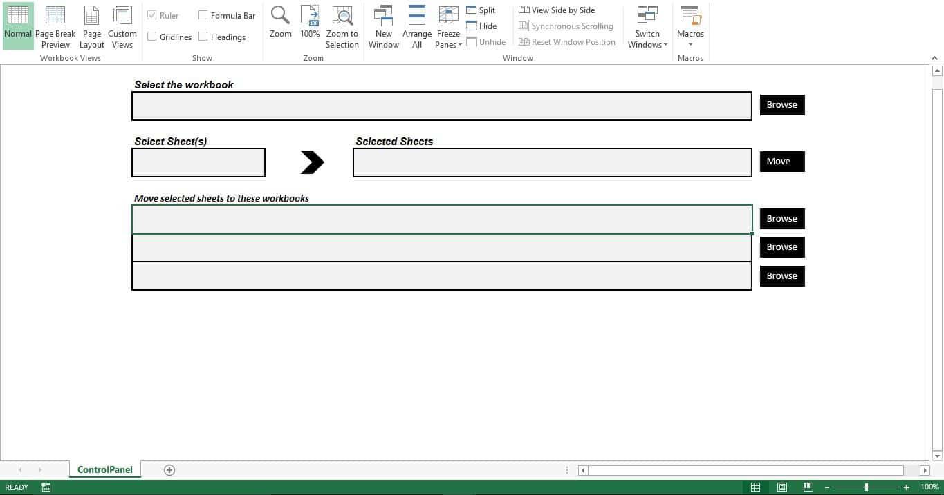 create-sheet-controlpanel Vba Copy Worksheet To Another Workbook Without S on