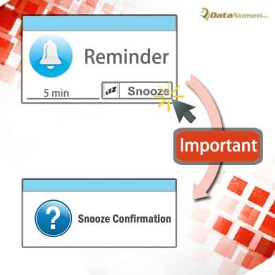 Get Confirmation Before Snoozing the Reminders of Important Items