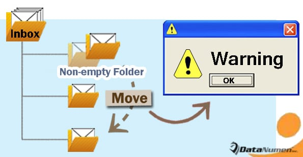 Get Warned before Moving a Non-Empty Folder in Your Outlook