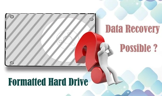Possibility for Data Recovery on a Formatted Hard Drive
