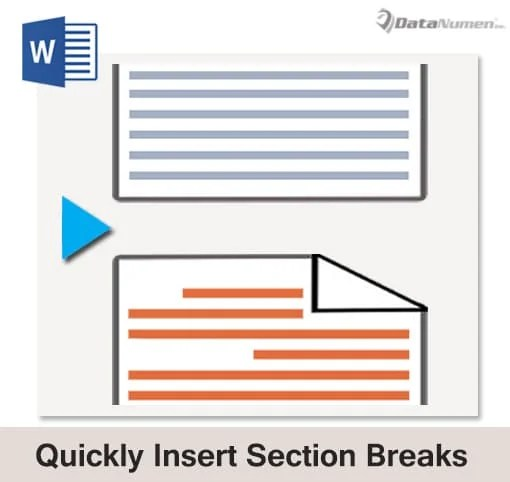 Quickly Insert Section Breaks into Your Word Document