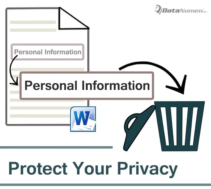 Protect Your Privacy by Auto Deleting Personal Information from Word Document