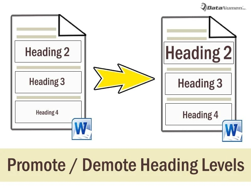 Batch Promote or Demote Heading Levels in Your Word Document