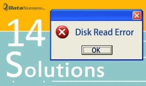 """""""A Disk Read Error Occurred"""" Problem"""