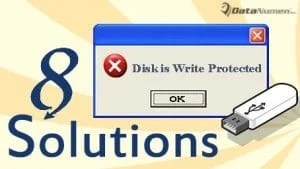 """The disk is write protected"" Error"