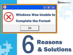 Software windows was unable to complete