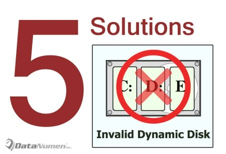 5 Solutions to Invalid Dynamic Disk Problem in Windows