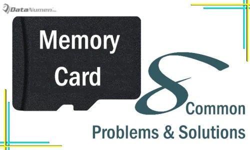 8 Most Common Memory Card Problems and Their Solutions