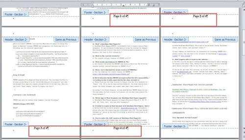 how to add page numbering to a pdf