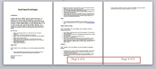 Page/2 >> 3 Smart Ways To Add Page Number X Of Y To Your Word Document