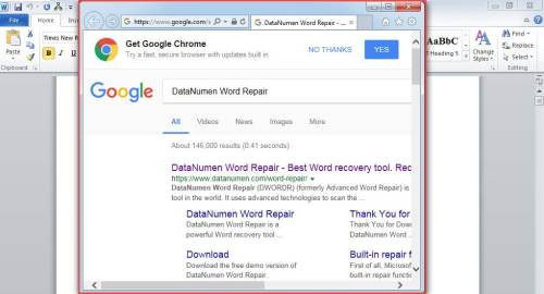 how to open browser window