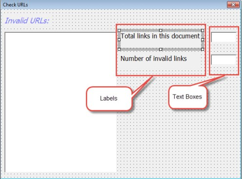 Create Two More Labels and Text Boxes