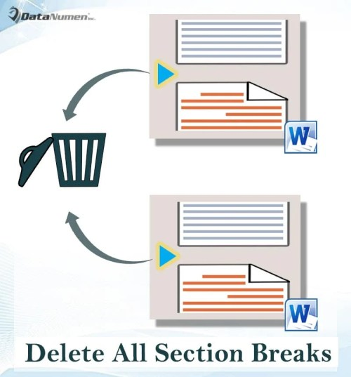 3 Ways to Quickly Delete All Section Breaks in Your Word ...