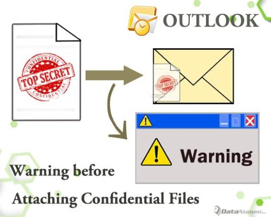 Get a Warning before Attaching Confidential Files to Your Outlook Email