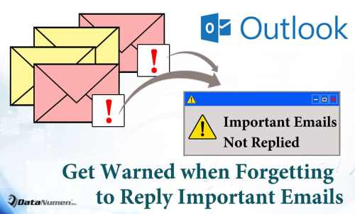 Get Warned If Forgetting to Reply Important Emails When Closing Outlook