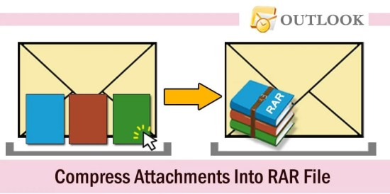 Quickly Compress All Attachments into a RAR File in Your Outlook Email