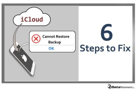 "6 Steps to Fix ""Cannot Restore Backup"" Error when Restoring Data from iCloud to iPhone"