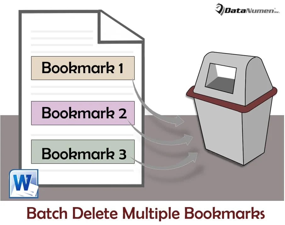 Batch Delete Multiple Bookmarks in Your Word Document