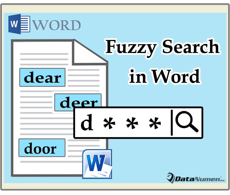 Do Fuzzy Search in Your Word Document