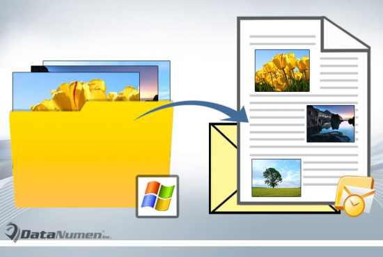 Batch Embed All Images from a Windows Folder into an Outlook Email