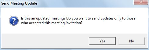How to send outlook meeting updates only to those who accepted the message asking if send meeting updates only to who accepted this meeting stopboris Image collections