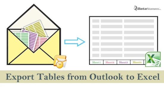 Quickly Export All Tables from an Outlook Email to an Excel Workbook via VBA