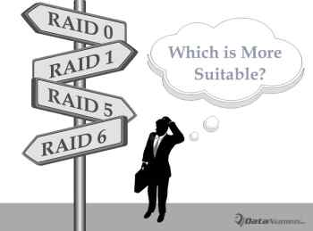 Which RAID Level Is More Suitable for Your Personal Data?