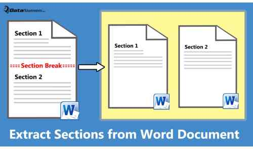 2 Fast Ways to Extract Sections from Your Word Document ...