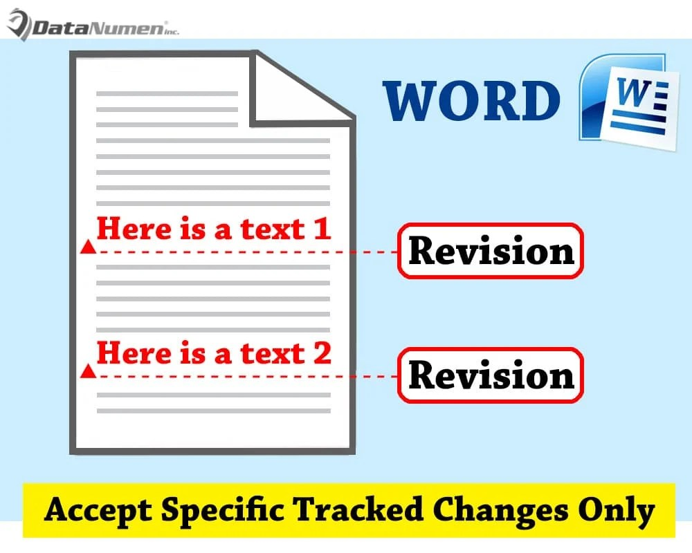 Accept Specific Tracked Changes Only in Your Word Document