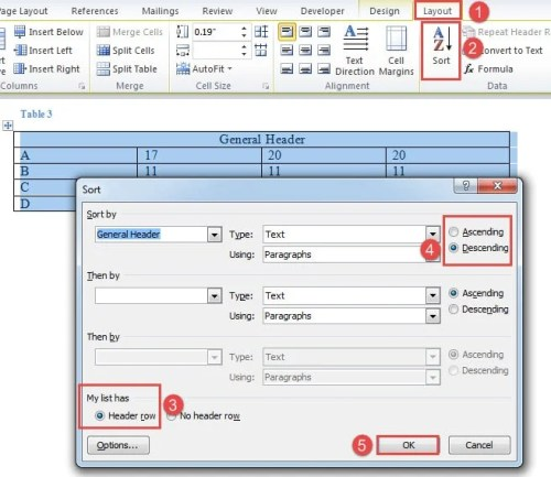 how to change only one header in word