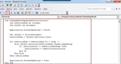 "Paste Codes->Click ""Run"""