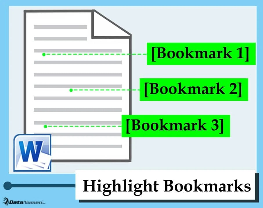 Show All Bookmarks in Your Word Document