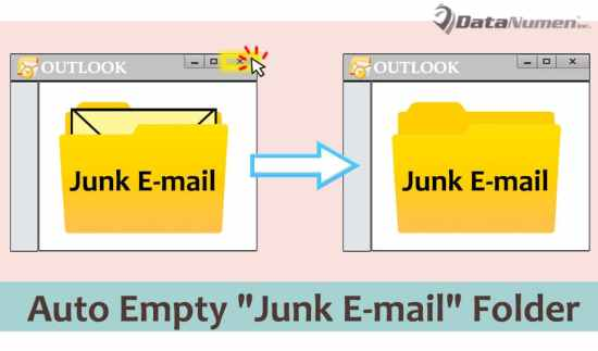 "Auto Empty ""Junk E-mail"" Folder When Exiting Outlook"