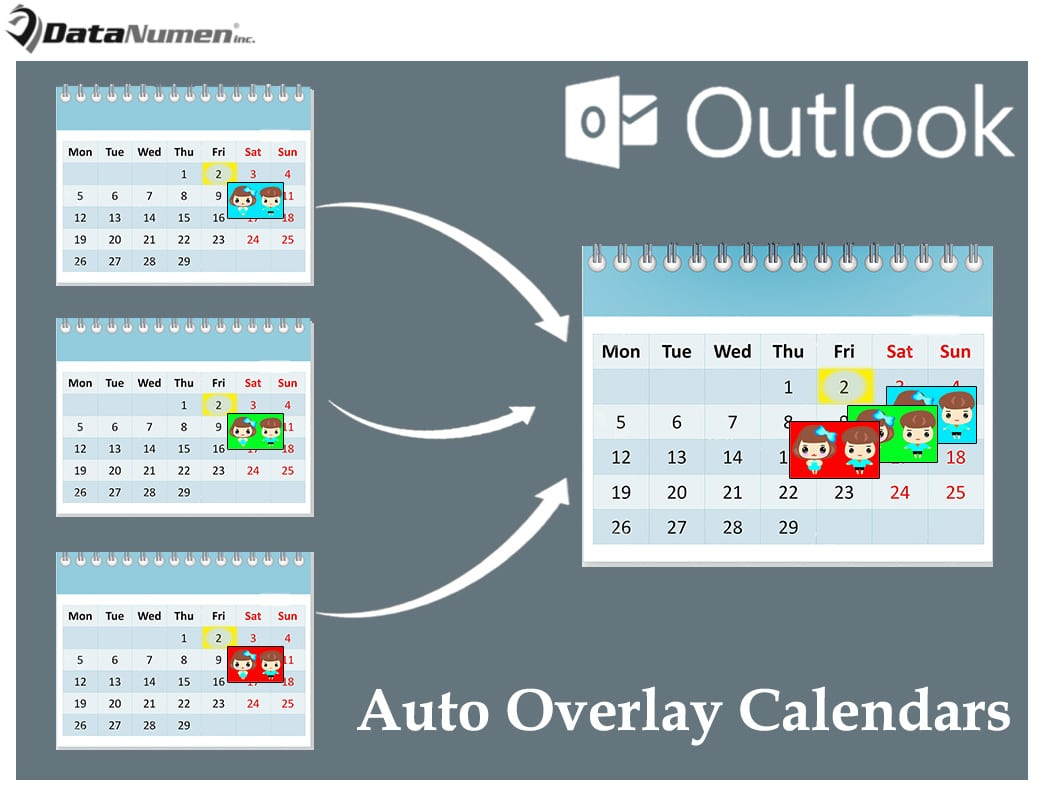 How to Auto Overlay Specific Calendars When Switching to