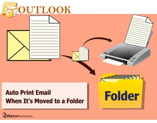 Auto Print an Email When It's Moved to a Specific Folder in Your Outlook