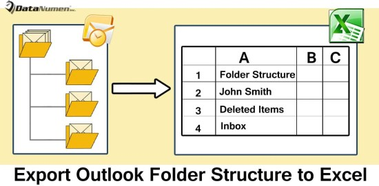 Export the Folder Structure of Your Outlook File to Excel