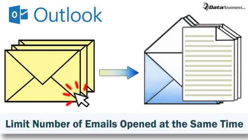 Limit the Number of Emails Opened at the Same Time with Outlook VBA