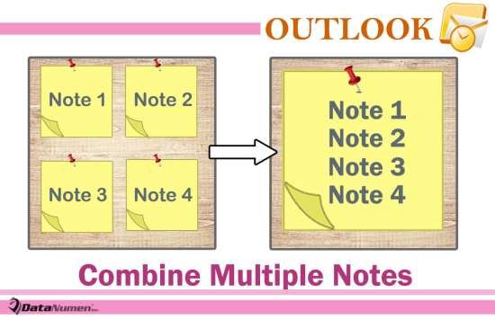 Quickly Merge Multiple Outlook Notes via VBA