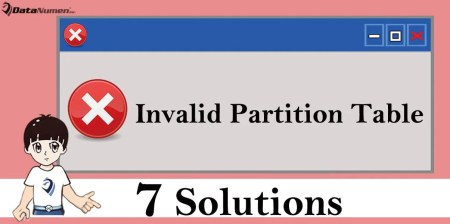 "7 Solutions to ""Invalid Partition Table"" Error on Windows"