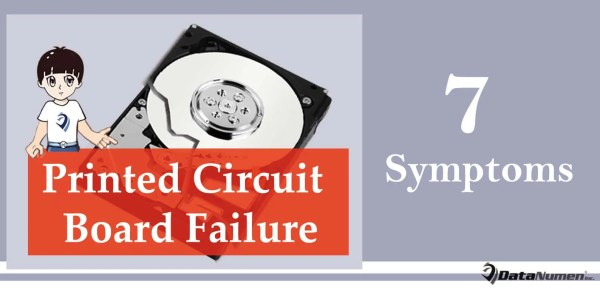 7 Symptoms of Printed Circuit Board (PCB) Failure on Hard Drive