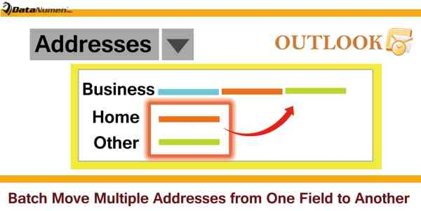 Batch Move Multiple Contacts' Addresses from One Address Field to Another