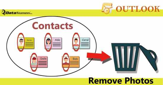 Batch Remove Photos from Multiple Contacts in Outlook