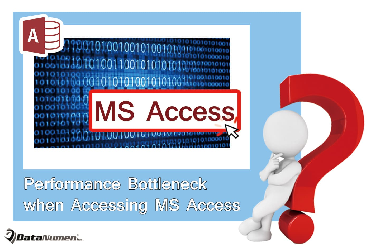 Find The Performance Bottleneck When Accessing A Ms Access Database Over Network