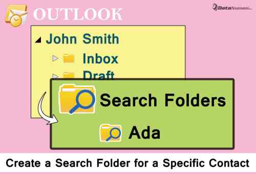 Quickly Create a Search Folder for a Specific Contact in Outlook