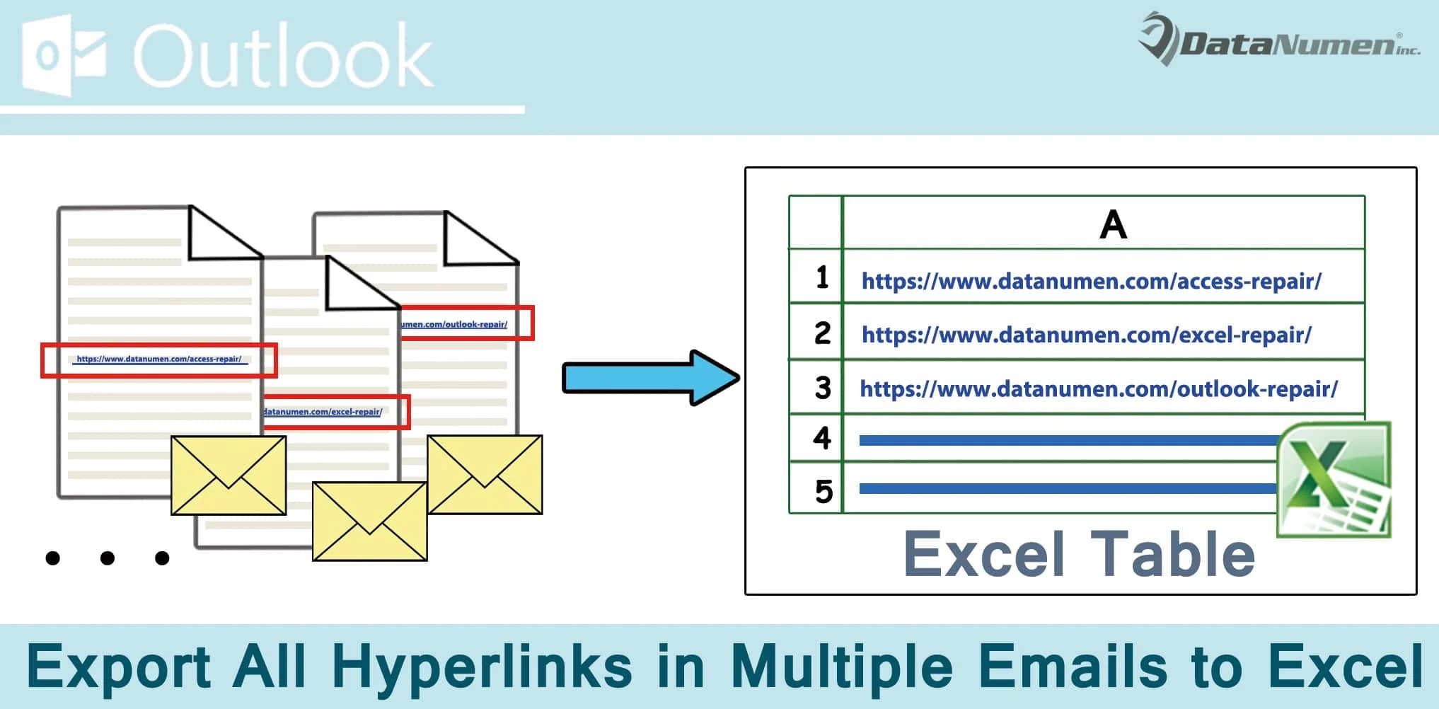 How To Quickly Export All Hyperlinks In Multiple Outlook